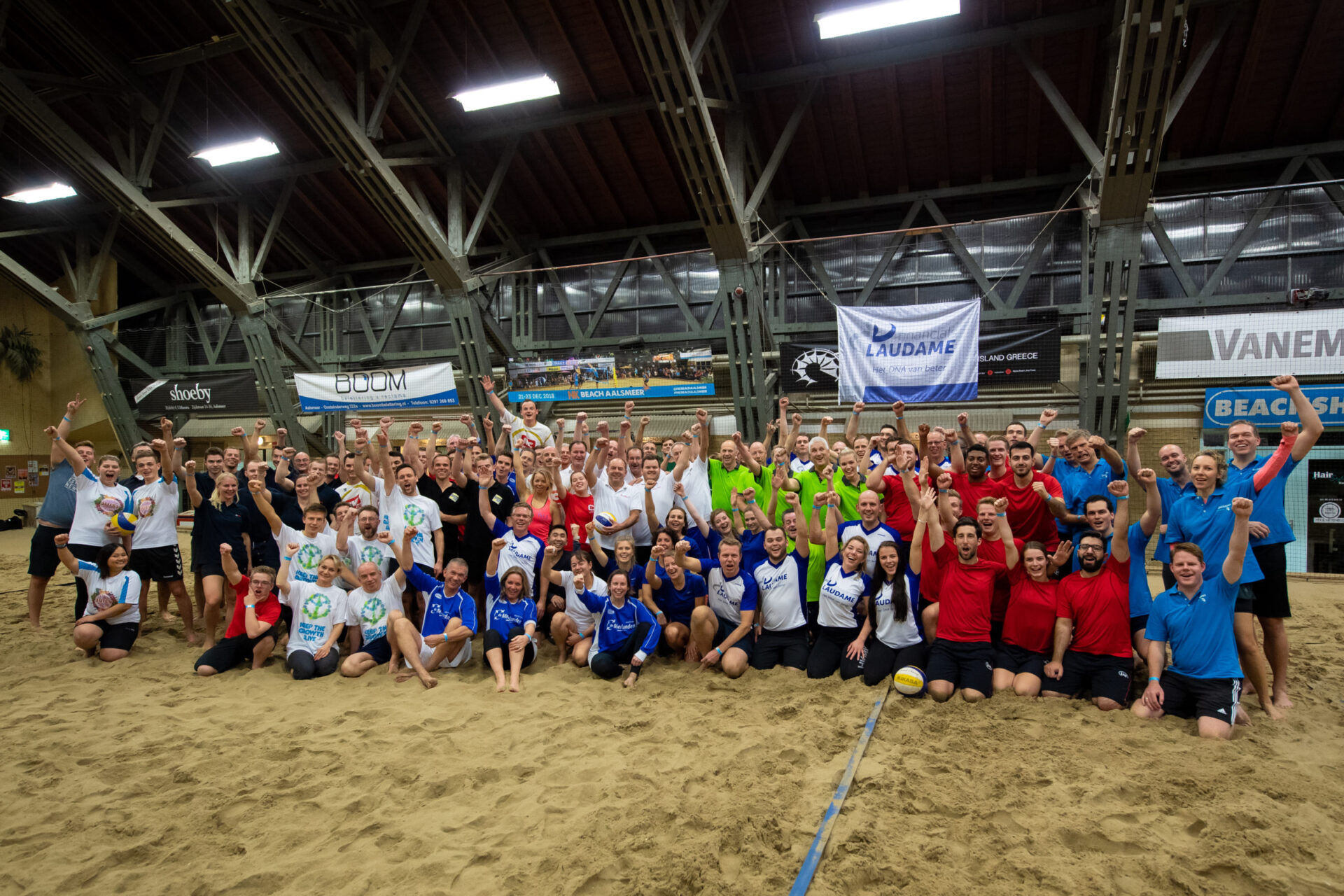 Beachvolleybaltoernooi Laudame Financials