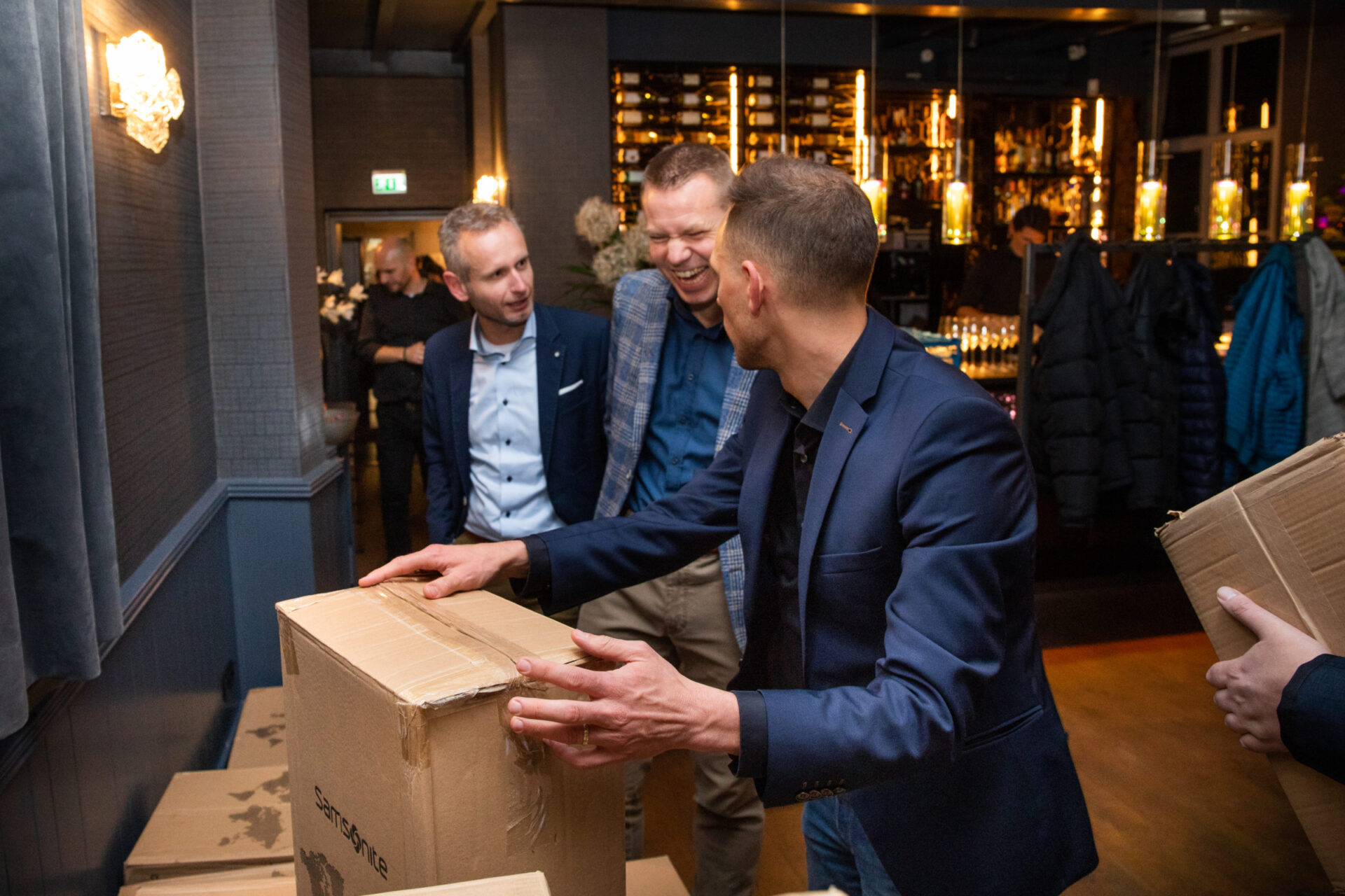 Kerstdiner Laudame Financials 2019